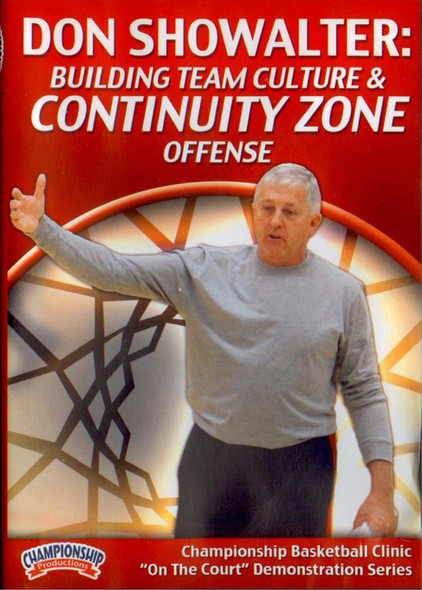 Building Team Culture & Continuity Zone Offense by Don Showalter Instructional Basketball Coaching Video