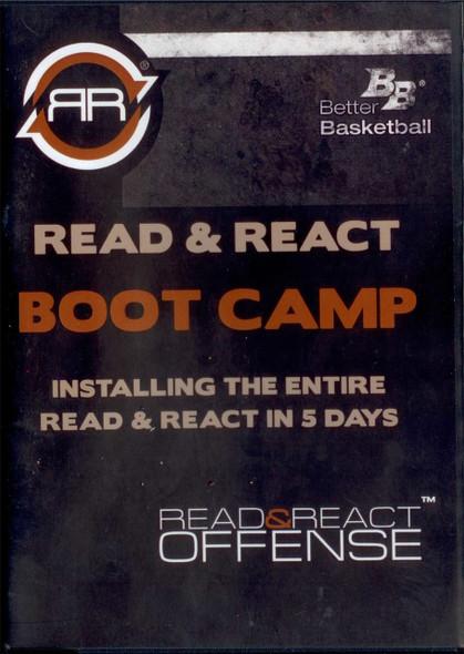 Read & React Offense Boot Camp Dvd by Rick Torbett Instructional Basketball Coaching Video