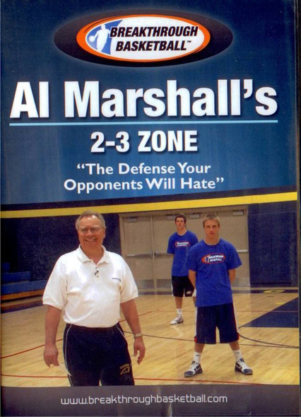 Al Marshall's 2-3 Zone by Al Marshall Instructional Basketball Coaching Video
