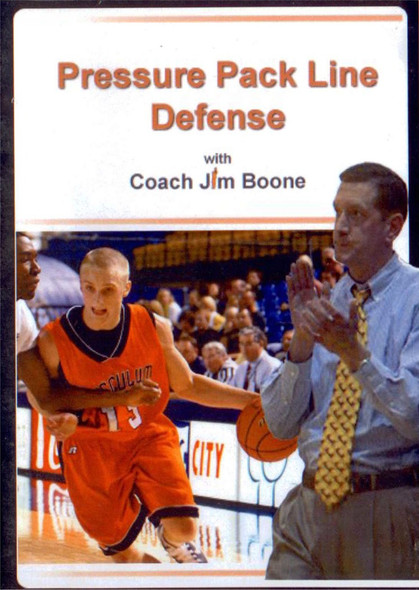 Pressure Pack Line Defense by Jim Boone Instructional Basketball Coaching Video