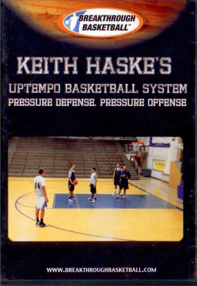 Keith Haske's Uptempo Basketball System by Keith Haske Instructional Basketball Coaching Video