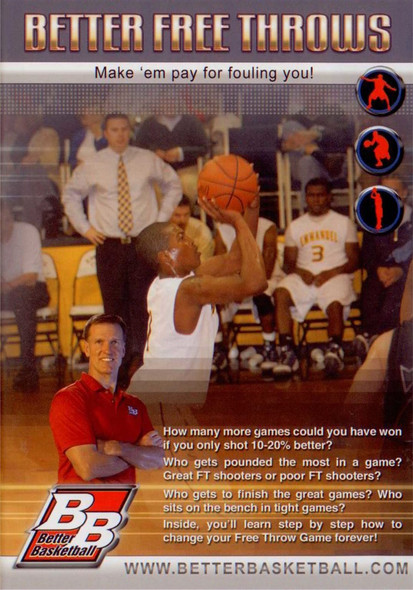 Better Free Throws Better  Basketball by Rick Torbett Instructional Basketball Coaching Video