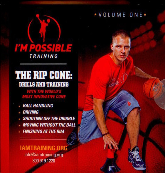The Rip Cone: Drills & Training Volume 1 by Micah Lancaster Instructional Basketball Coaching Video