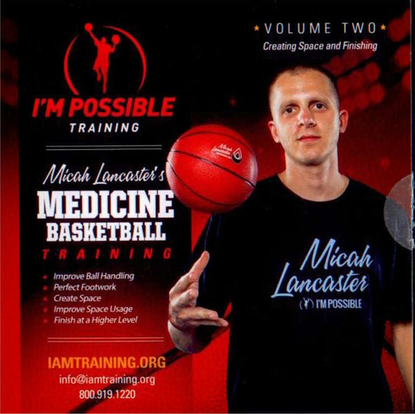 Micha Lancaster's Medicine Ball Training Volume 2 by Micah Lancaster Instructional Basketball Coaching Video