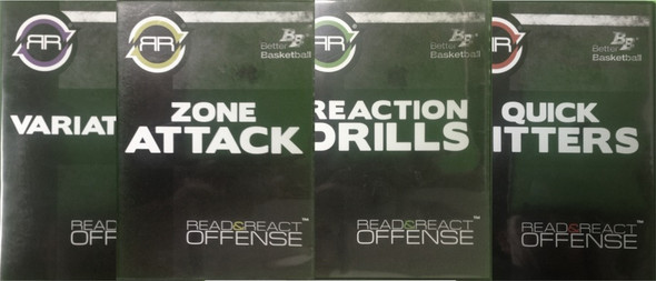 Read & React Offense Bonus DVDs