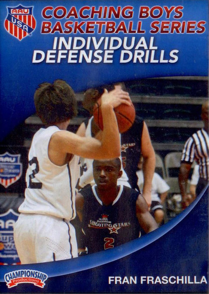 Aau Boys Basketball Series: Individual Defense Drills (fraschilla) by Fran Fraschilla Instructional Basketball Coaching Video