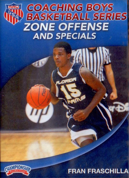 Zone Offense & Specials by Fran Fraschilla Instructional Basketball Coaching Video