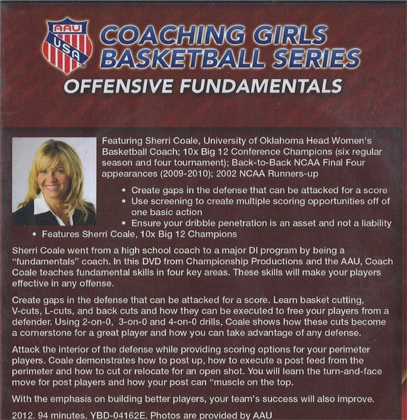 (Rental)-AAU GIRLS: OFFENSIVE FUNDAMENTALS
