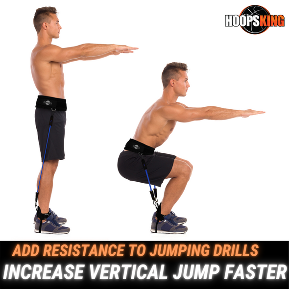 Increase vertical jump with resistance bands