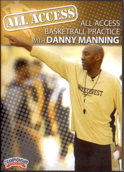 All Access: Danny Manning Basketball Practice by Danny Manning Instructional Basketball Coaching Video