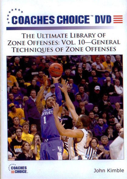 General Techniques Of Zone Offenses by John Kimble Instructional Basketball Coaching Video