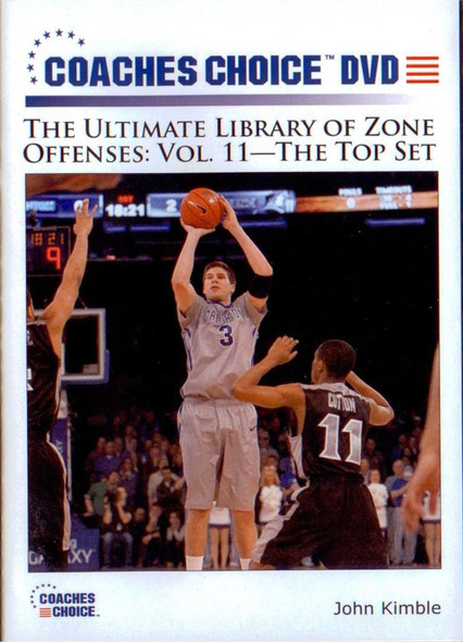 Zone Offenses: The Top Set by John Kimble Instructional Basketball Coaching Video