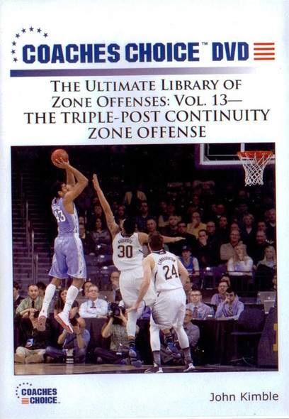Triple Post Continuity Zone Offense by Bo Kimble Instructional Basketball Coaching Video