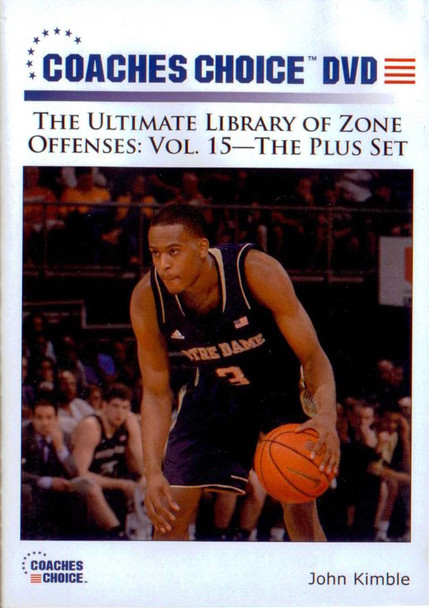 Zone Offense: The Plus Set by John Kimble Instructional Basketball Coaching Video