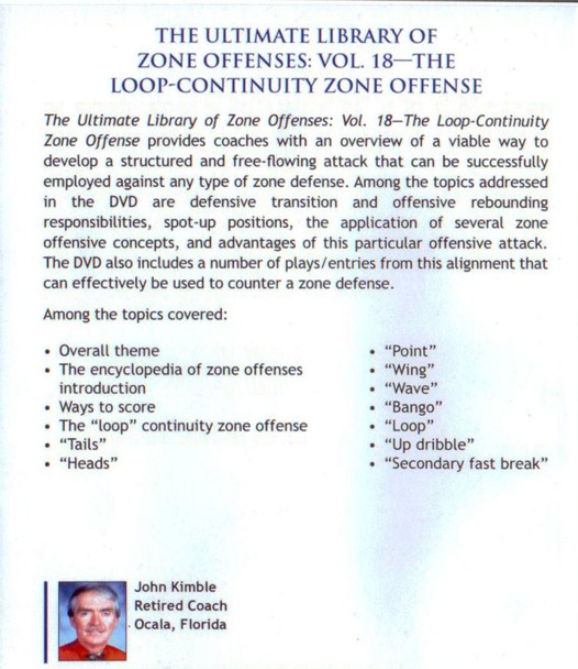 (Rental)-Loop Continuity Zone Offense