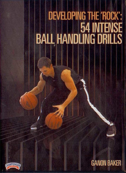 """Developing The """"rock"""" In Your Game: 54 Intense by Ganon Baker Instructional Basketball Coaching Video"""