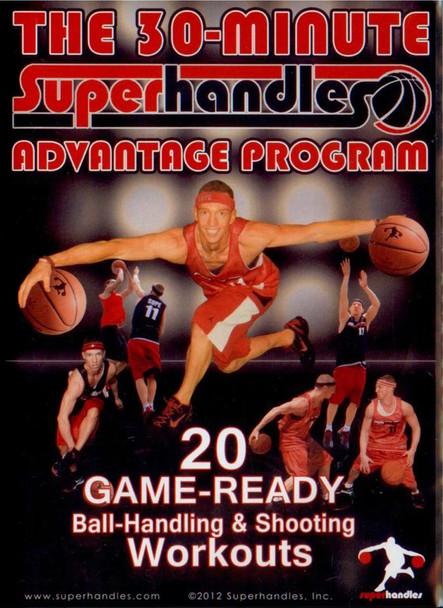 30 Minute Superhandles Advantage Program by Jon Hildebrandt Instructional Basketball Coaching Video