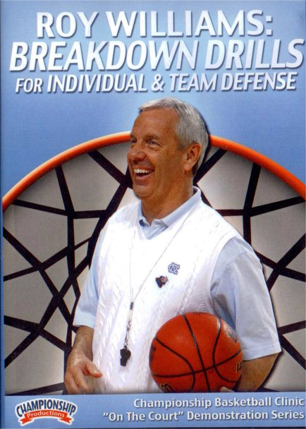 Breakdown Basketball Defense Drills For Individual & Team Defense by Roy Williams Instructional Basketball Coaching Video