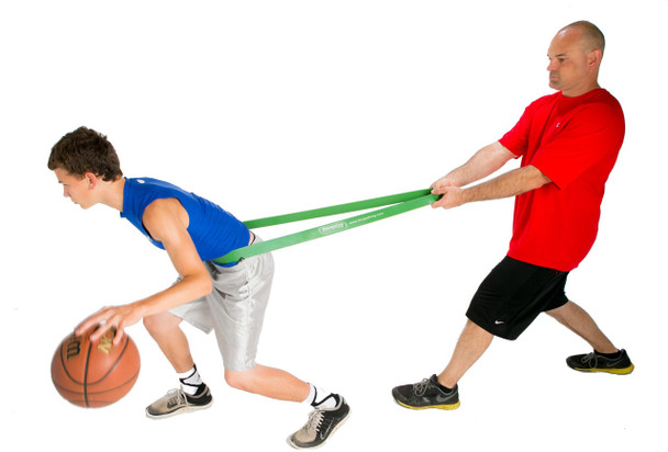 On the Court Basketball Weight Room - Resistance Bands Pack