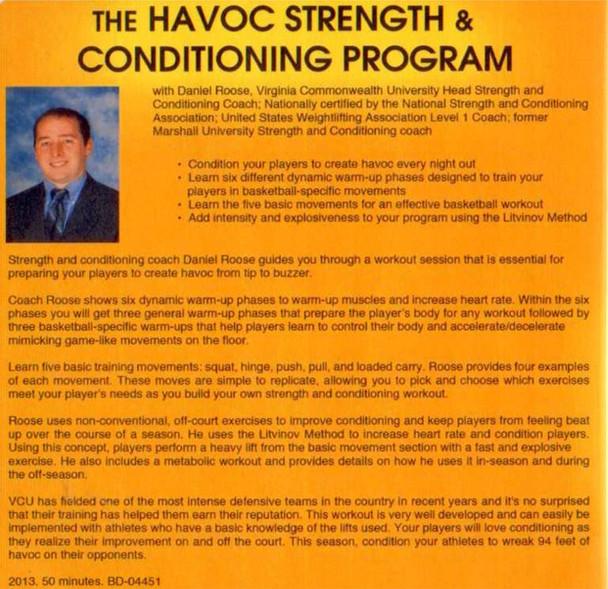 (Rental)-Havoc Strength & Conditioning Program