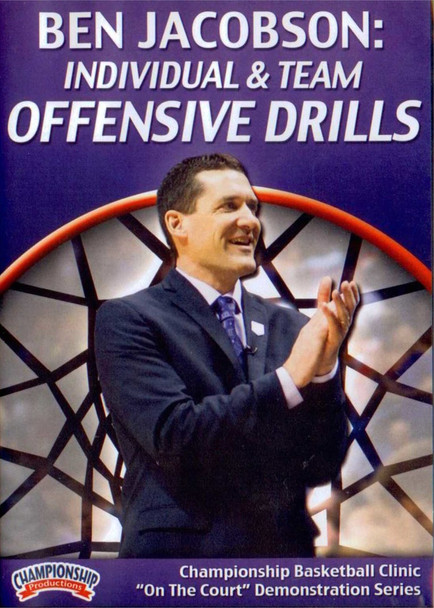 Individual & Team Offensive Drills by Ben Jacobson Instructional Basketball Coaching Video