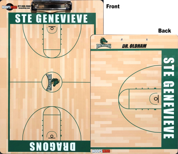 custom basketball dry erase board coaching coaches