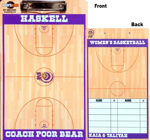 Custom basketball board gift for coach