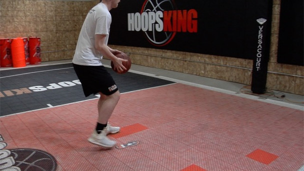 proper footwork for shooting the basektball