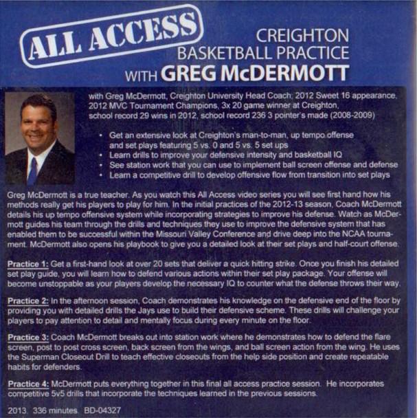 Basketball practice tips greg mcdermott