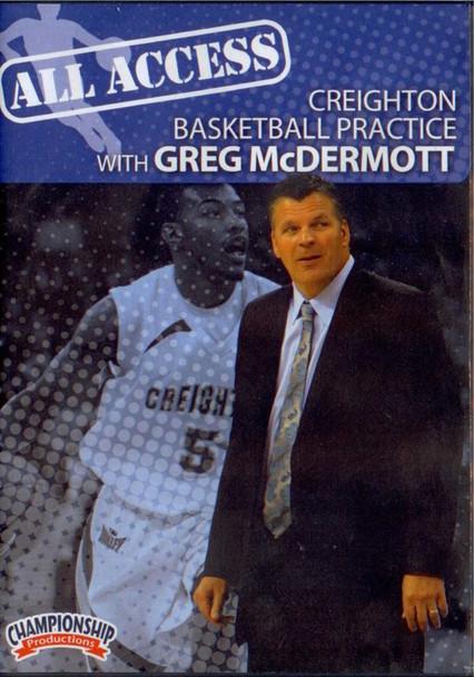 All Access: Greg Mcdermott by Greg McDermott Instructional Basketball Coaching Video