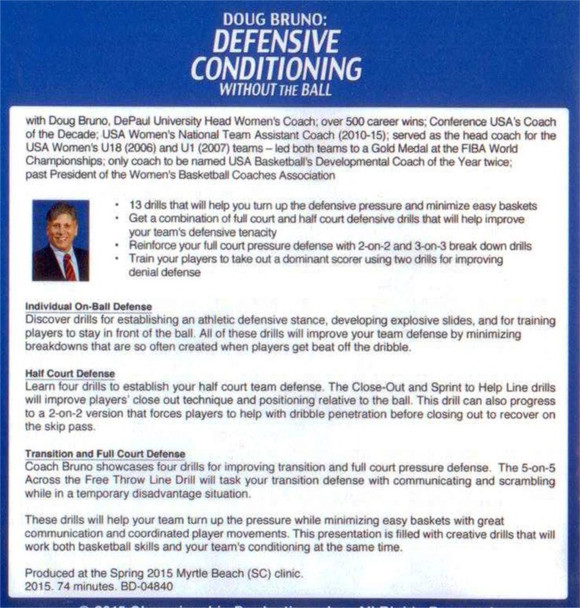 Defensive conditioning drills for basketball