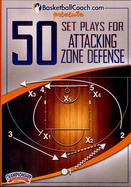 50 Set Plays For Attacking Zone Defense by Fran McCaffery Instructional Basketball Coaching Video