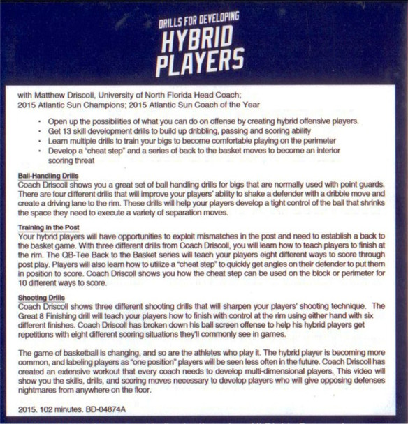 hybrid basketball player development drills