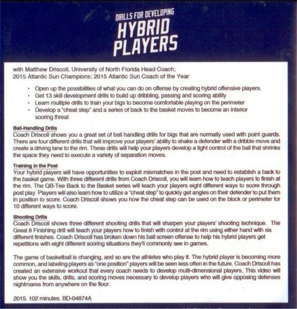 hybrid basketball player development drills