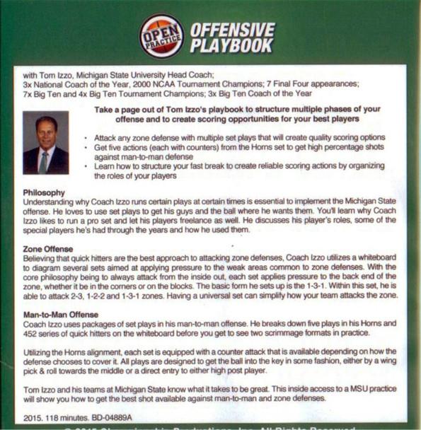 basketball offensive playbook