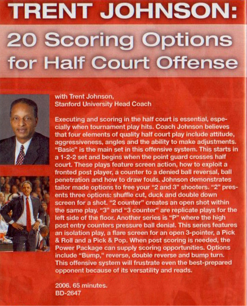 (Rental)-20 Scoring Options For Half Court Offense