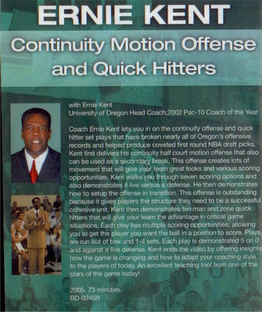 (Rental)-Continuity Motion Offense And Quick Hitters