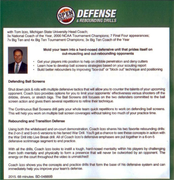 (Rental)-Defense & Rebounding Drills