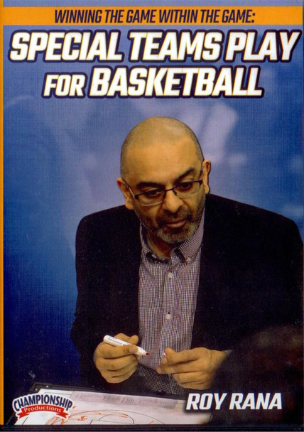 Special Teams Play For Basketball by Roy Rana Instructional Basketball Coaching Video