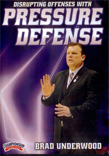 Disrupting Offenses With Pressure Defense by Brad Underwood Instructional Basketball Coaching Video