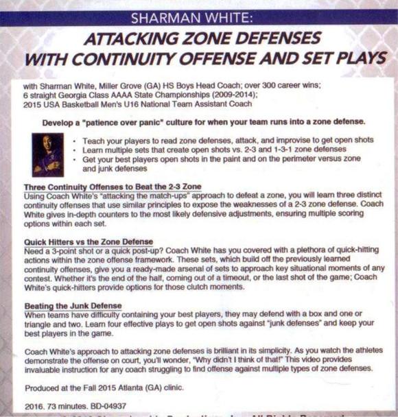 Attacking Zone Defense