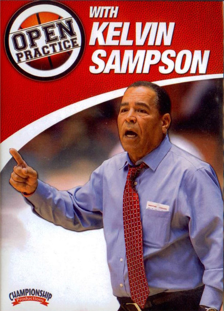 Open Practice With Kelvin Sampson by Kelvin Sampson Instructional Basketball Coaching Video