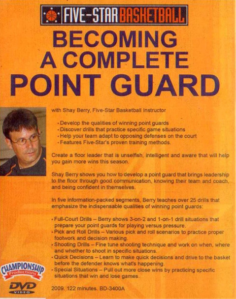 (Rental)-Becoming A Complete Point Guard