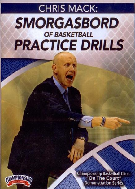 Smorgasbord Of Basketball Practice Drills by Chris Mack Instructional Basketball Coaching Video