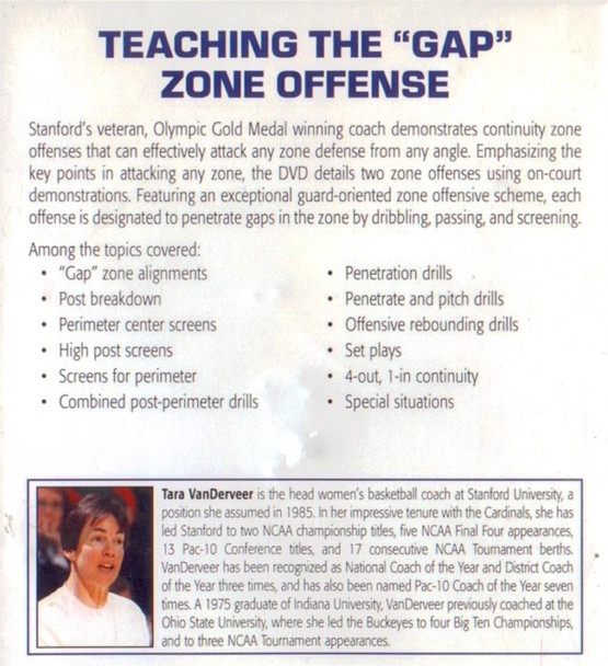 (Rental)-Teaching The Gap Zone Offense