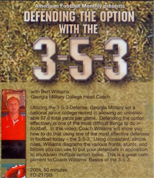 (Rental)-DEFENDING THE OPTION WITH THE 3-5-3