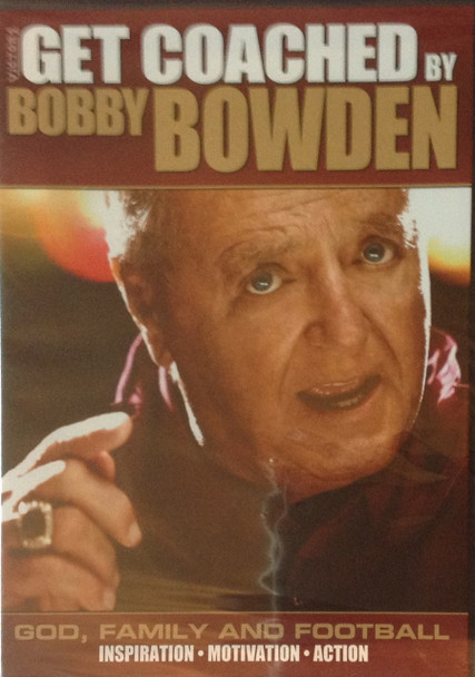Get Coached: Bobby Bowden by Bobby Bowden Instructional Basketball Coaching Video