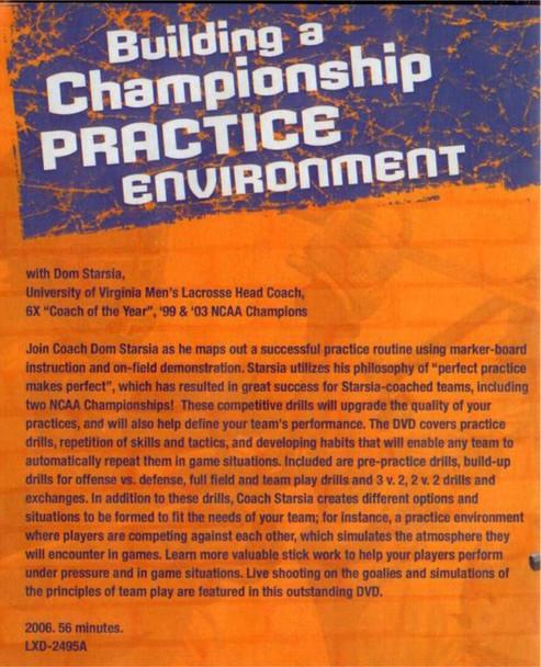 (Rental)-Building a Championship Lacrosse Practice Environment