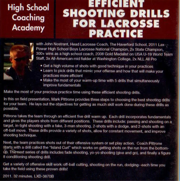 (Rental)-Efficient Shooting Drills for Lacrossse Practice