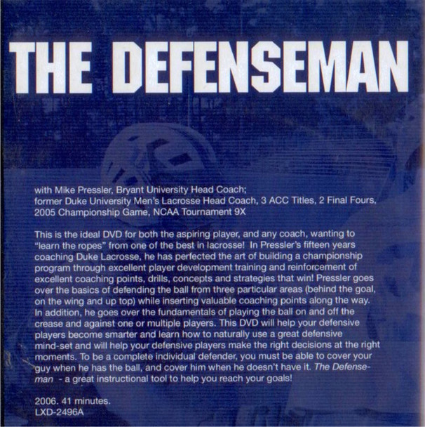 (Rental)-The Defenseman